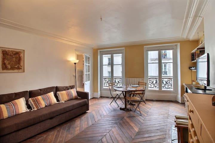 45 m2 au pied de Montmartre