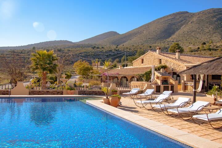 Finca Romantica with private Pool, bis max. 10 P.