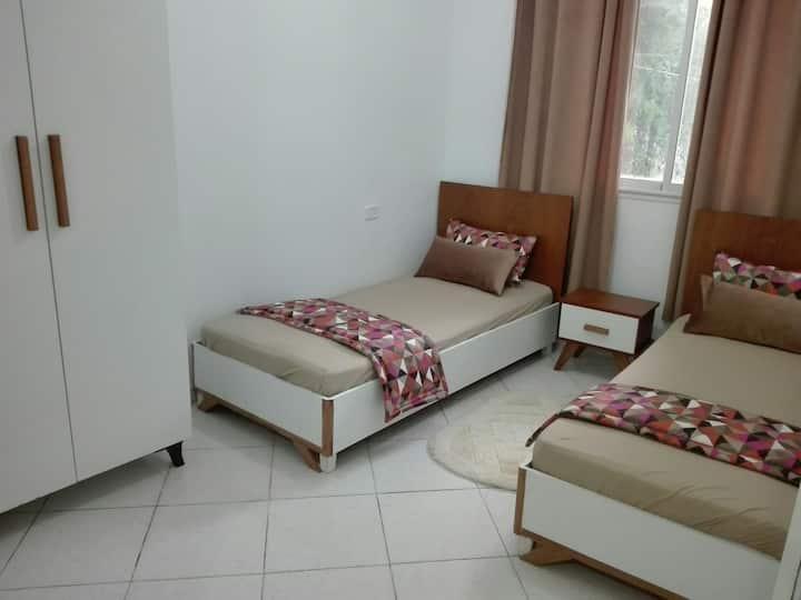 Villa neuve avec jardin,climatisée a kelibia