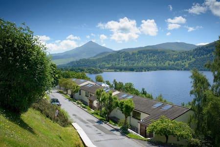 Scenic Waterside Retreat on Loch Rannoch.