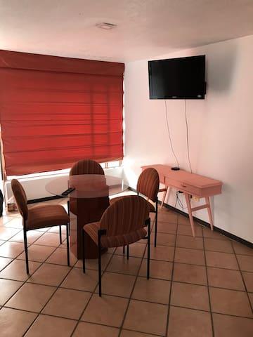 Colorido departamento en Cholula