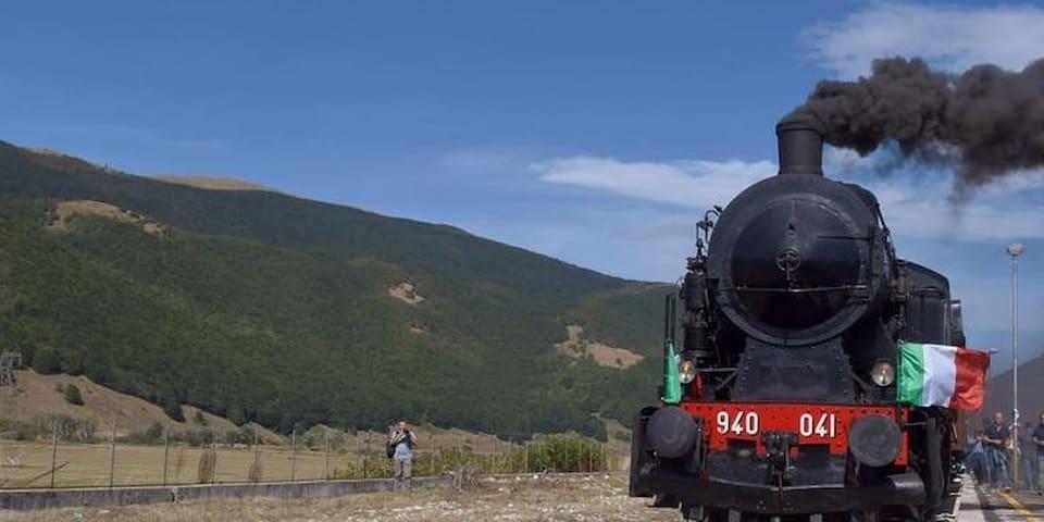 Treno storico Sulmona—Castel di Sangro