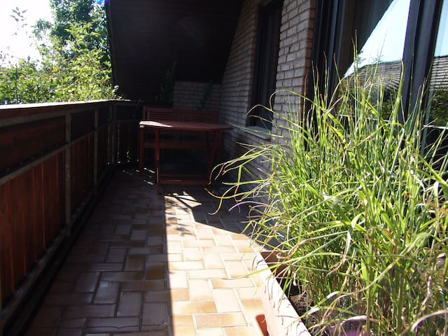 Cosy and comfortable apartment with balcony - Bünde - Ortak mülk