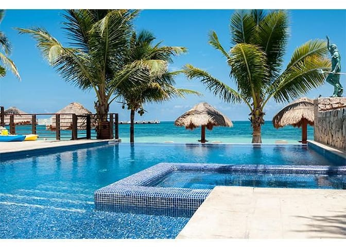 Serene Luxury Beachfront Condo - Private Paradise