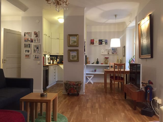 Cozy studio in the centre of city - Stockholm - Appartement