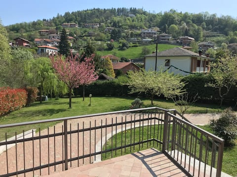 In the green hills of Turin