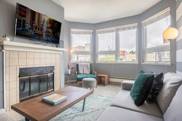 Homey 2BR Lower Pacific Heights, next to Japantown by Blueground