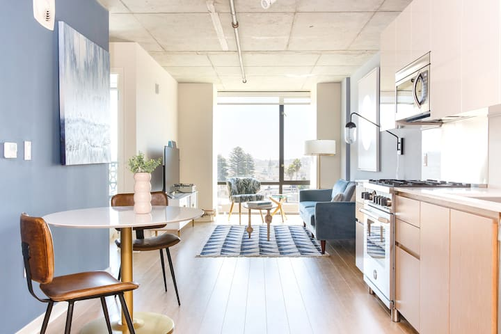 Sonder | Duboce Apartments | Modern 1BR + Rooftop