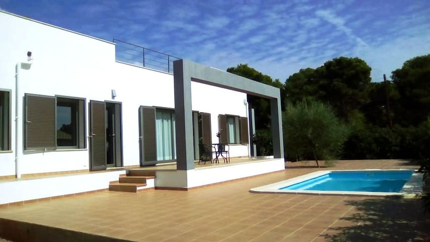 Mallorca Chalet con piscina al lado del mar, WIFI - Vallgornera - Dom