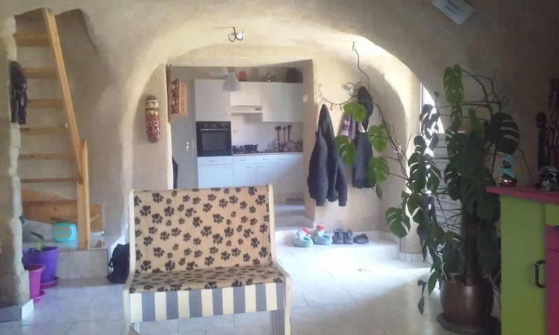 Charmante maison à la campagne - Saint-Yvoine - Dům