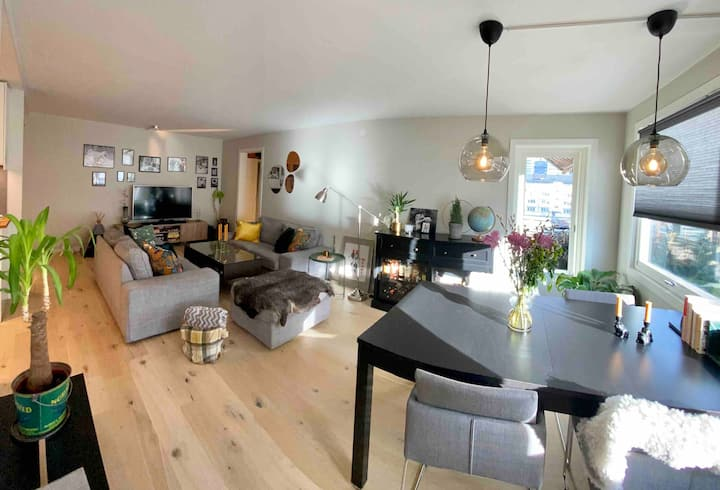 Spacious 3-bedroom apartment centrally located