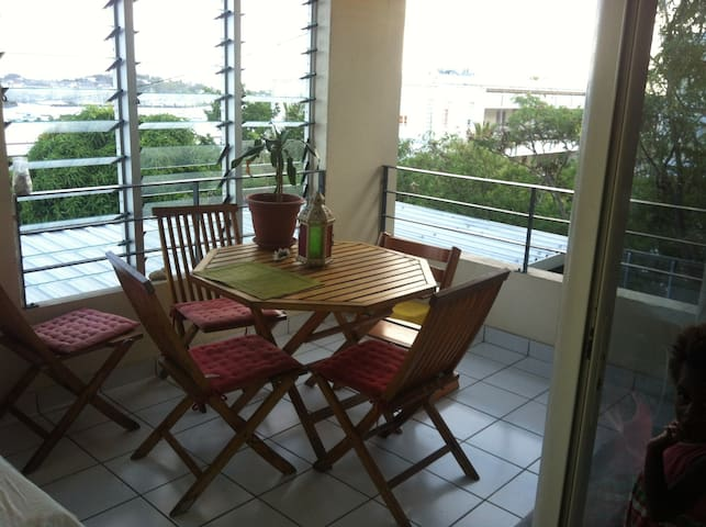 appartement vue Orphelinat - Nouméa - Apartment