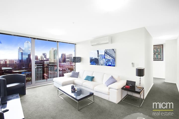Stunning, modern high-rise apartment - Southbank - Pis