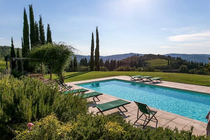 Villa Rosmarino - house with pool