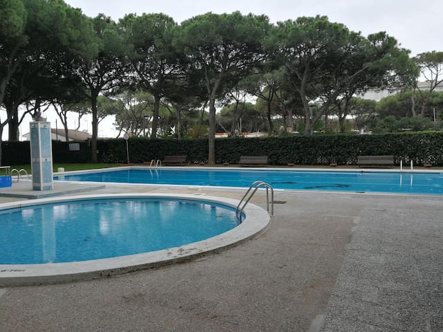 Piso en 1a linea de mar con parking privado