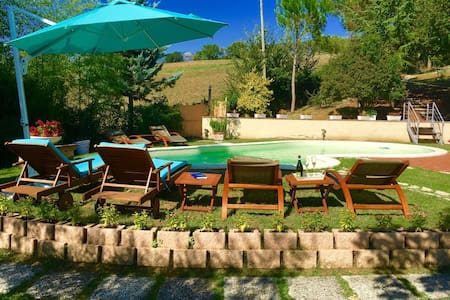 Spoleto Pool Luxury/10 kms to centre/sleeps 6/8 - Uncinano