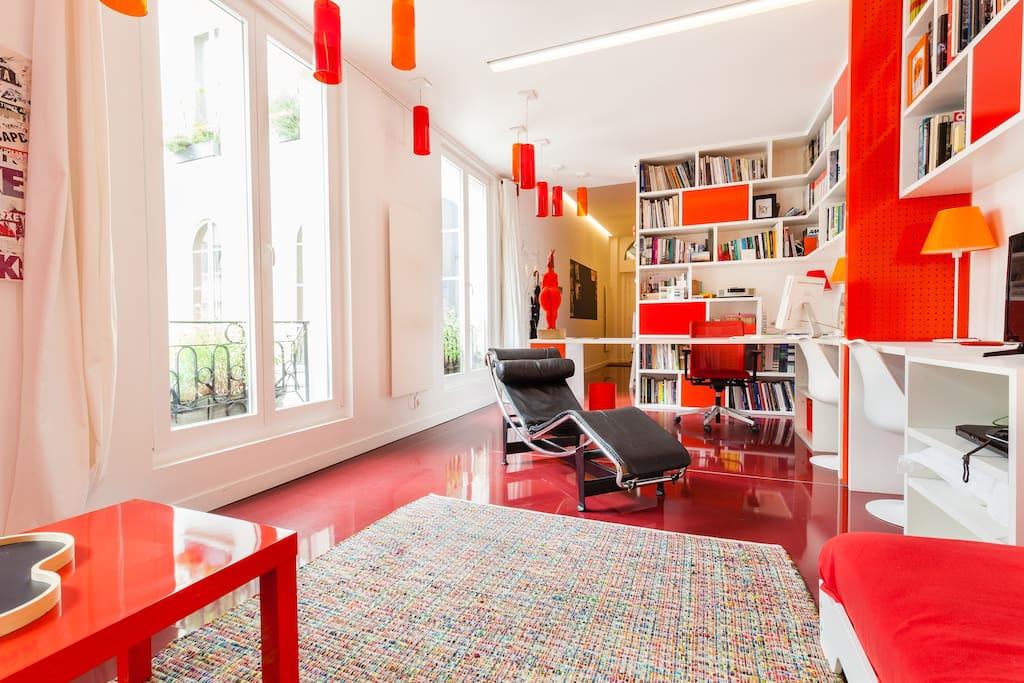 L 39 atelier du nord marais 4 p appartements louer - Atelier du marais agencement ...