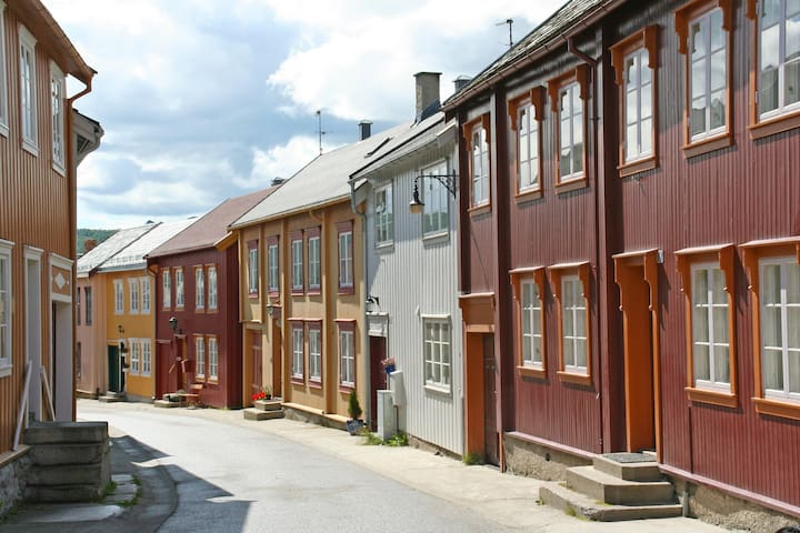 Apartment with atmosphere in the heart of Røros - Røros - Hus