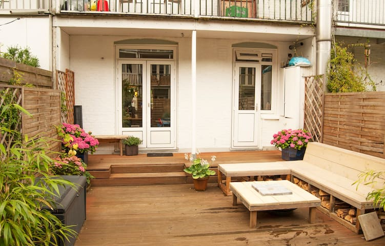 Authentic apt in flourishing East with roofterras - Amsterdam - Byt