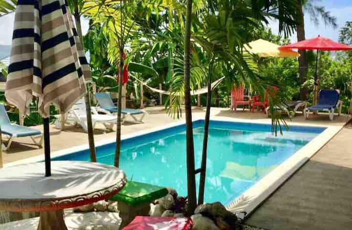 Ocean view rooftop lounge, salt water pool @LHVRD