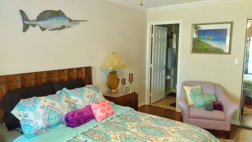 Cozy tropical get-a-way suite - Fort Pierce - Villa