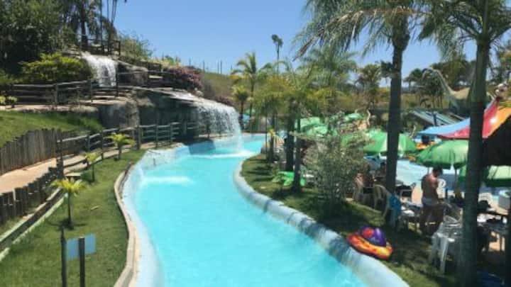 Flat no Aldeia das Águas Park Resort