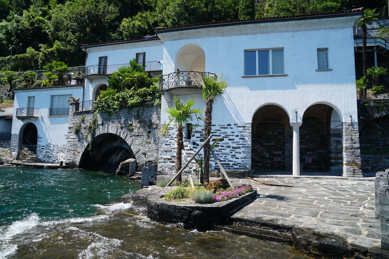 Lakefront Villa in Ascona, Switzerland