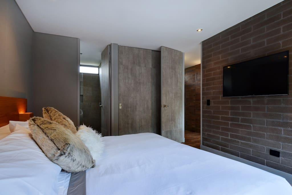 TV in bedroom