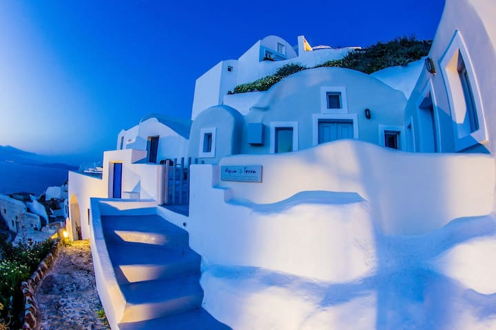 100% Private cave houses with caldera view - Oia - Hus