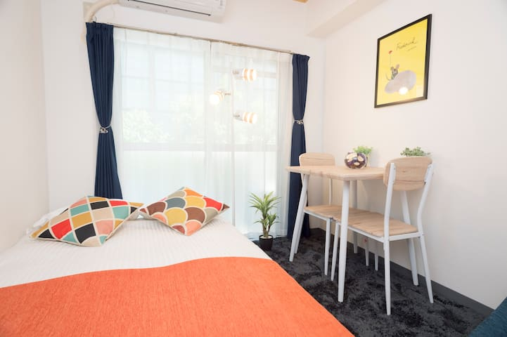 #12 Hakata(博多) Central apartment 4 pax FREE WIFI!