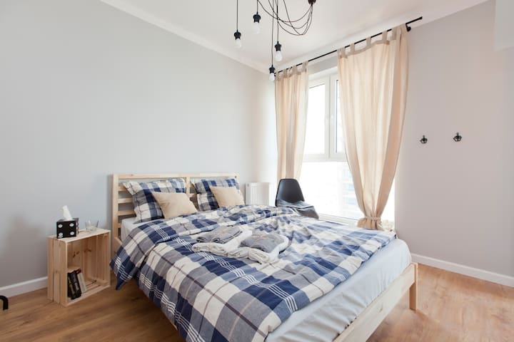 Cosy, well designed double room - Wrocław - Huoneisto