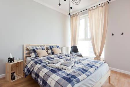 Cosy, well designed double room with balcony