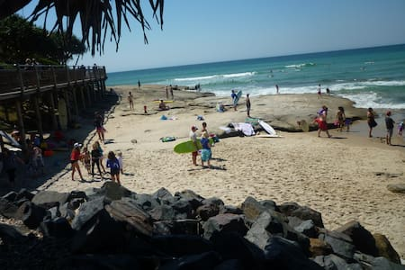 Comfy room close to beaches, cafés - Caloundra - Flat