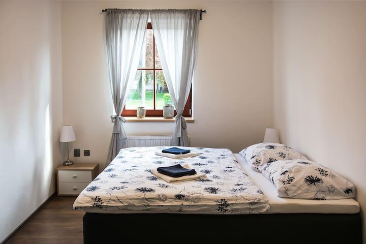 Bezbariérový pokoj pro 2 osoby ve Slavonicích