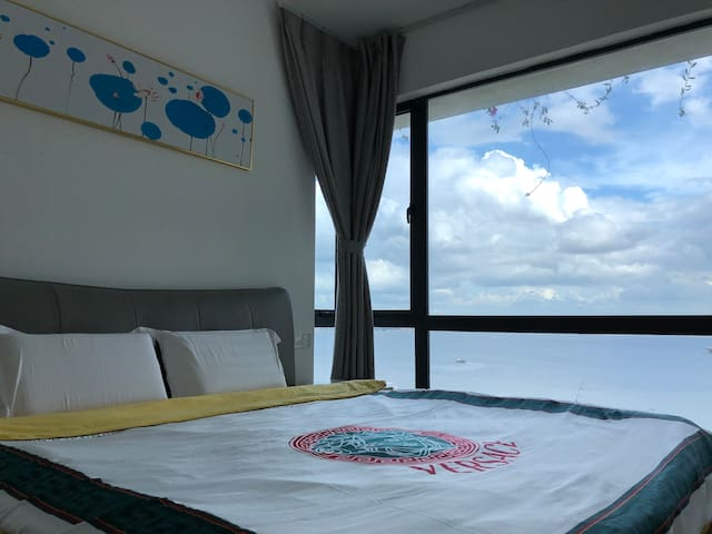 SUMMER HOTEL假日海景民宿Deluxe two-bedroom