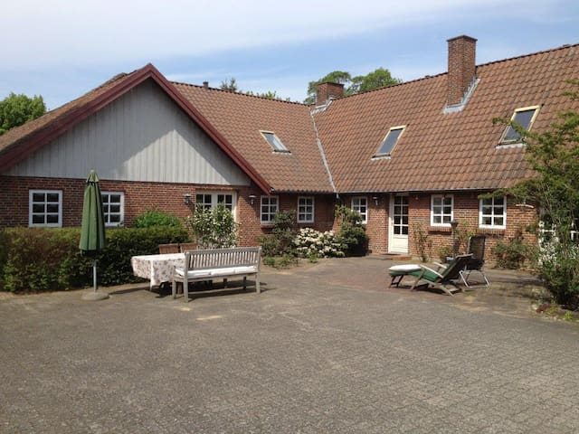 Cosy house or separat guest apartment, near Aarhus - Skanderborg