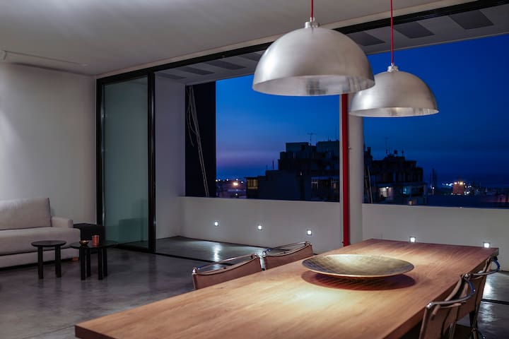Mar Mikhael Loft - Beirut - Vindsvåning