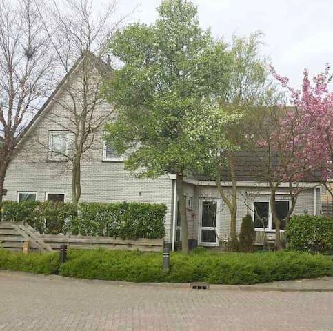Grote woning bij bos/strand en in het centrum - Castricum - Haus