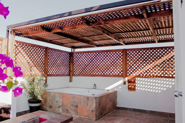 TEQUESMAGICO Casa fam c/increíble jacuzzi/aquazona