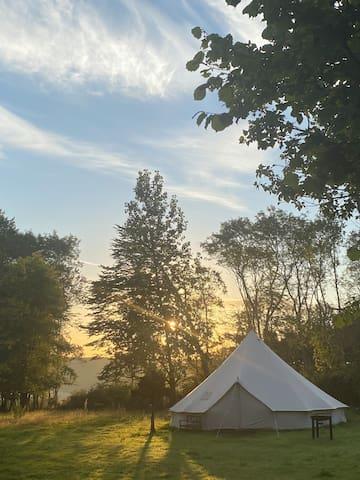 Fleetwood luxury camping