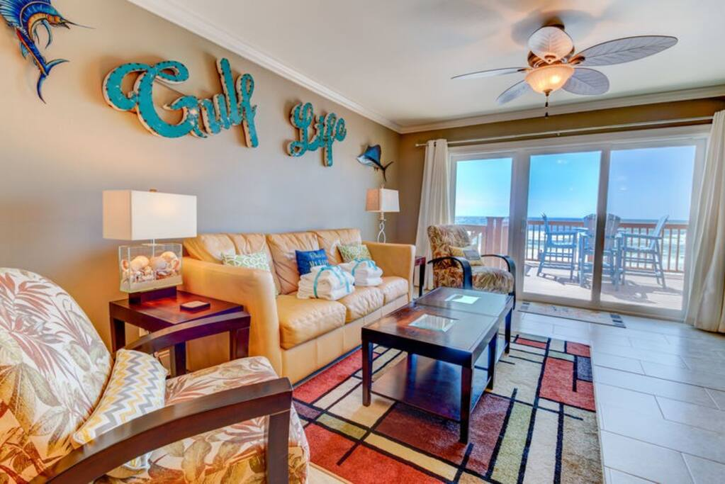 Welcome to the Gorgeously Appointed 17715 Front Beach Road in Panama City Beach!