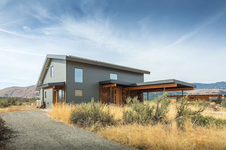 Artemisia: New Zero-Energy View Home—Walk to Town