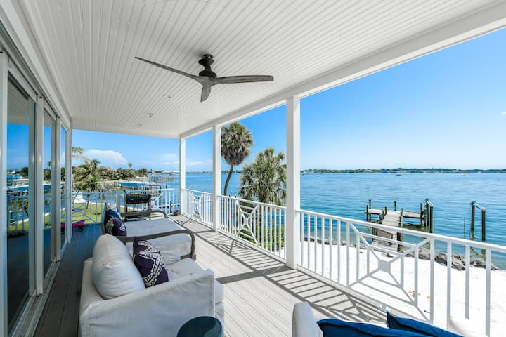 Livin' the Salt Life! Stunning 5 bedroom luxury waterfront home, close to the beach!!