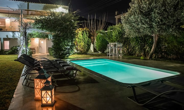 Apartment Lagonissi Residence 2 with common pool