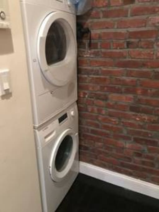 Washer/dryer- rare to have in nyc
