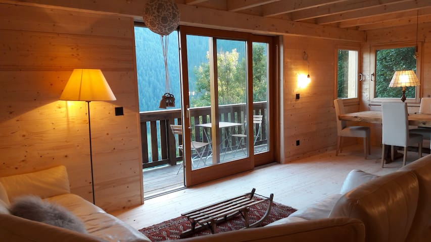 Heidi Chalet - Panoramic View - Modern & Authentic - Château-d'Œx - Xalet