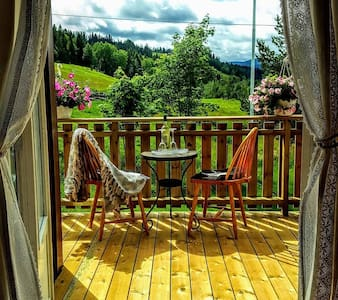 Guesthouse for rent at Rønning Farm in Budalen.