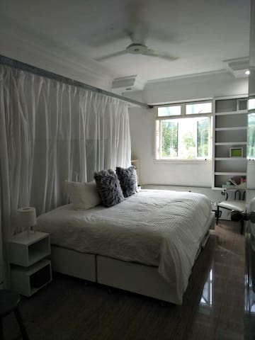 Newly Re-furbished Couple Room (Yew Tee MRT)