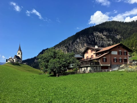 Maisonette mit Bergblick in Schmitten - Park Ela