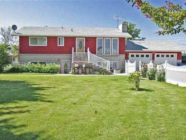 The Red Farmhouse Basement